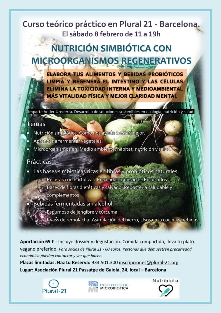 taller - NUTRICIÓN SIMBIÓTICA CON MICROORGANISMOS REGENERATIVOS - Barcelona @ Asociación Plural 21